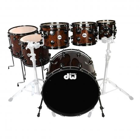DW Collector's Exotic 6-Pc Drum Set Shell Pack (22