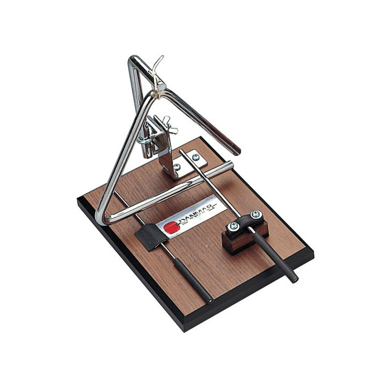 Danmar Triangle Machine/Trigger on Walnut Base