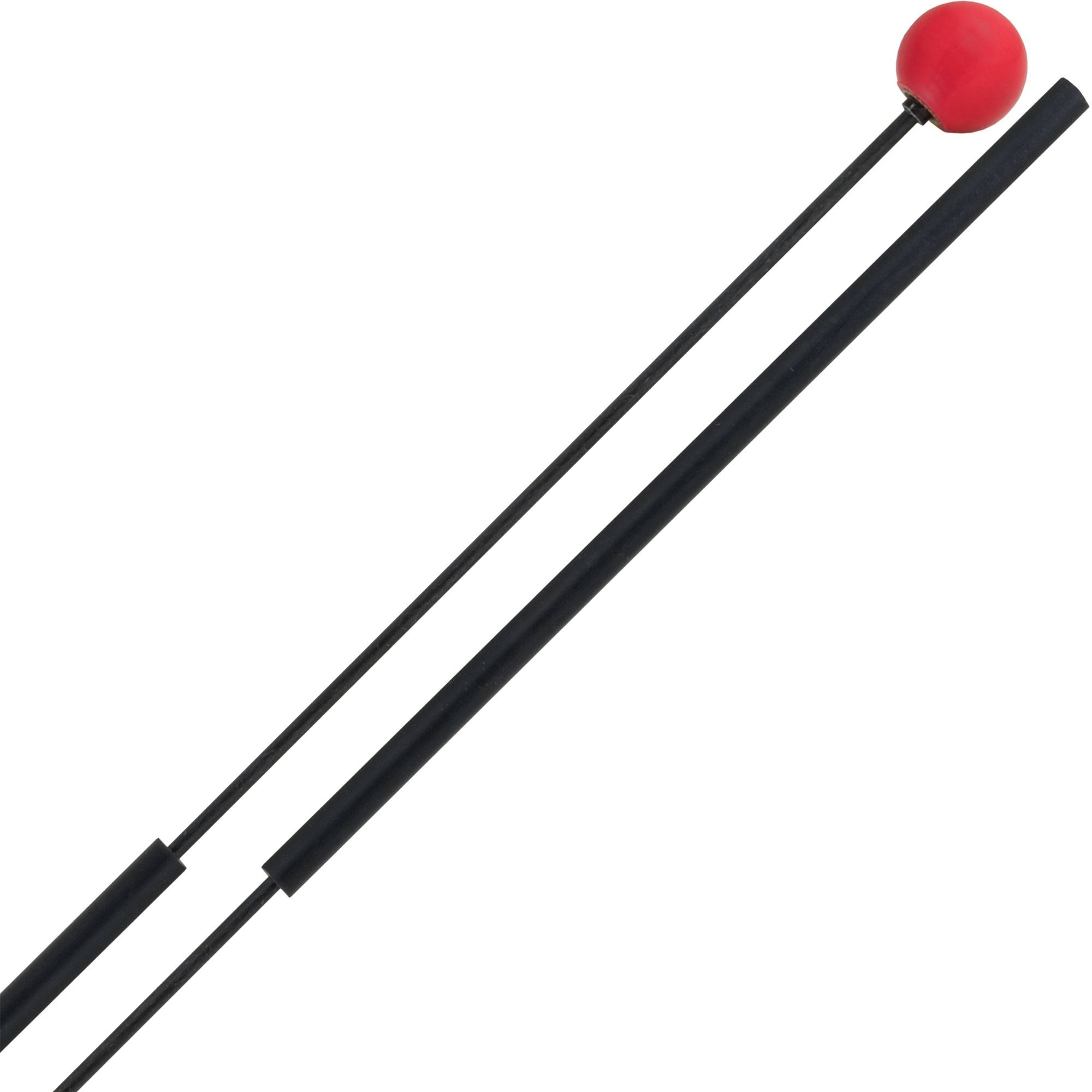 Dragonfly Percussion Heavy Magic Flute Bell Mallets with Fiberglass Handles