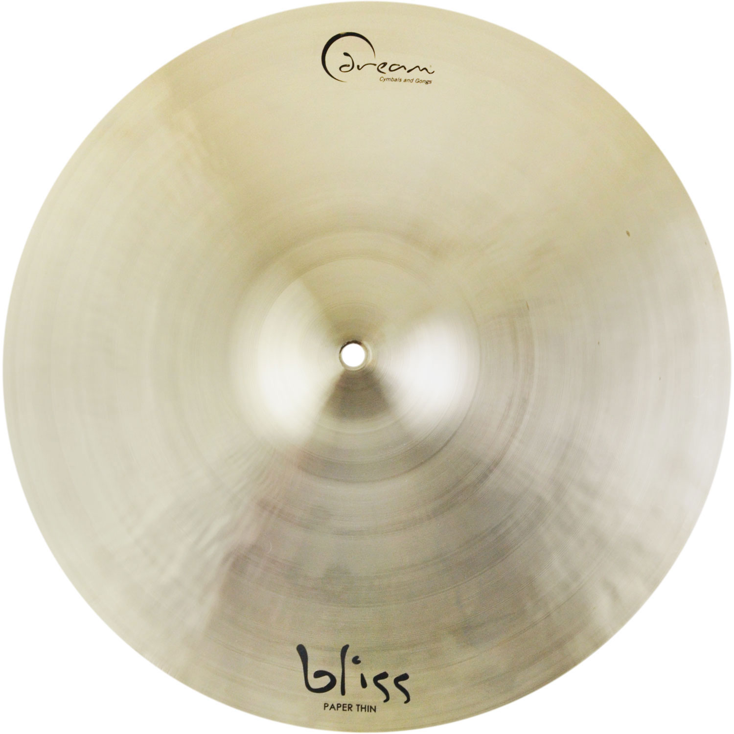 "Dream Bliss Series 19"" Paper Thin Crash Cymbal"