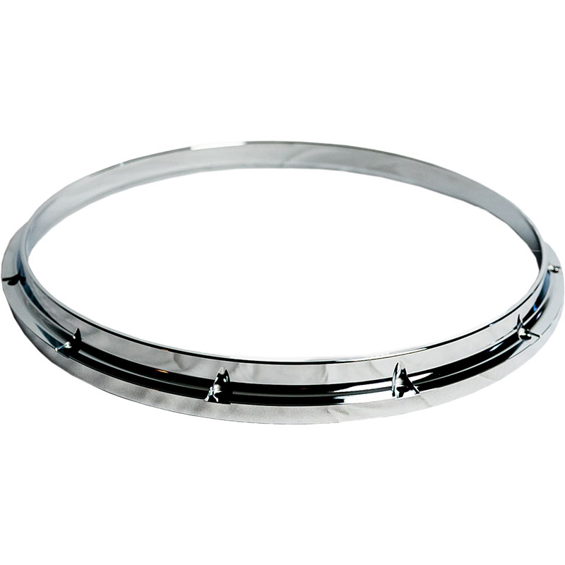 "Dynasty 14"" Marching Snare Top Hoop in Chrome"