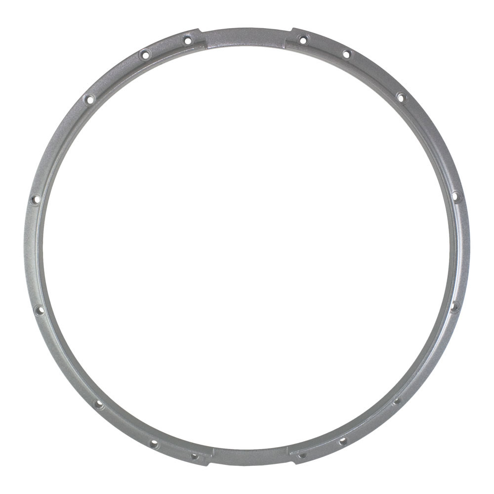 "Dynasty 14"" Marching Snare Bottom Hoop in Chrome"