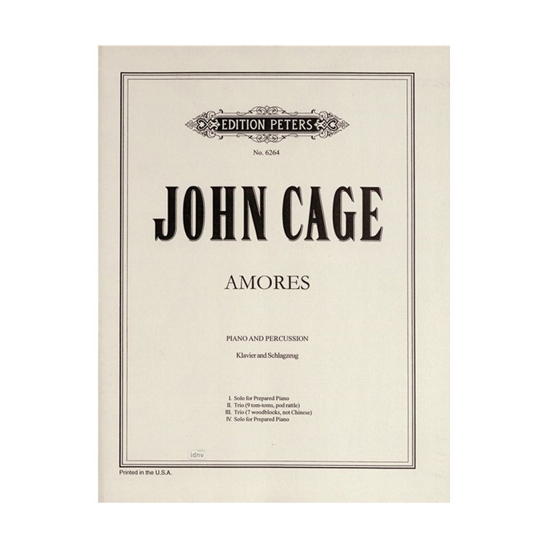 Amores by John Cage