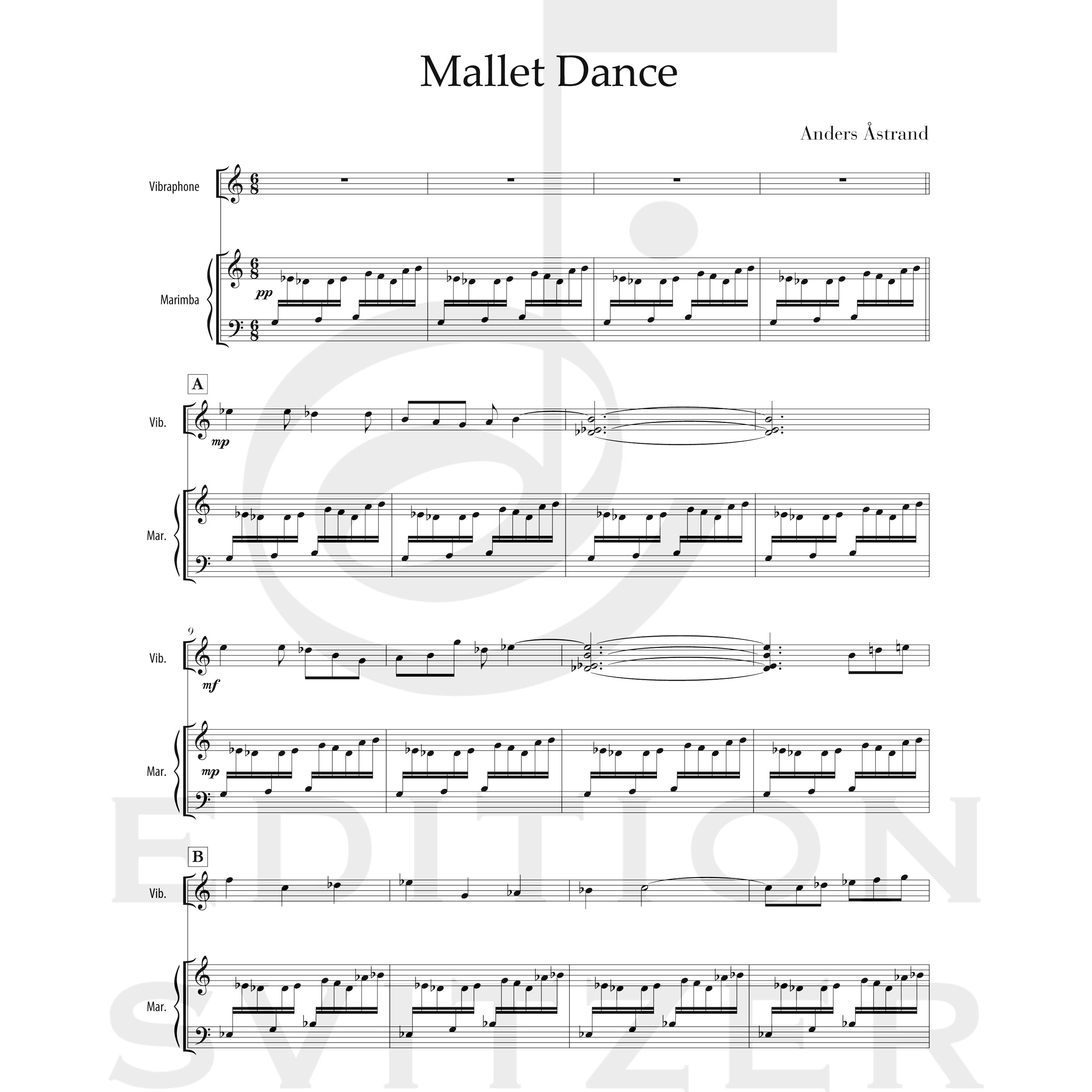 Mallet Dance by Anders Astrand