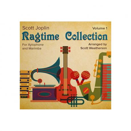 Scott Joplin Ragtime Collection for Xylophone and Marimba (Vol. 1) arr. Scott Weatherson