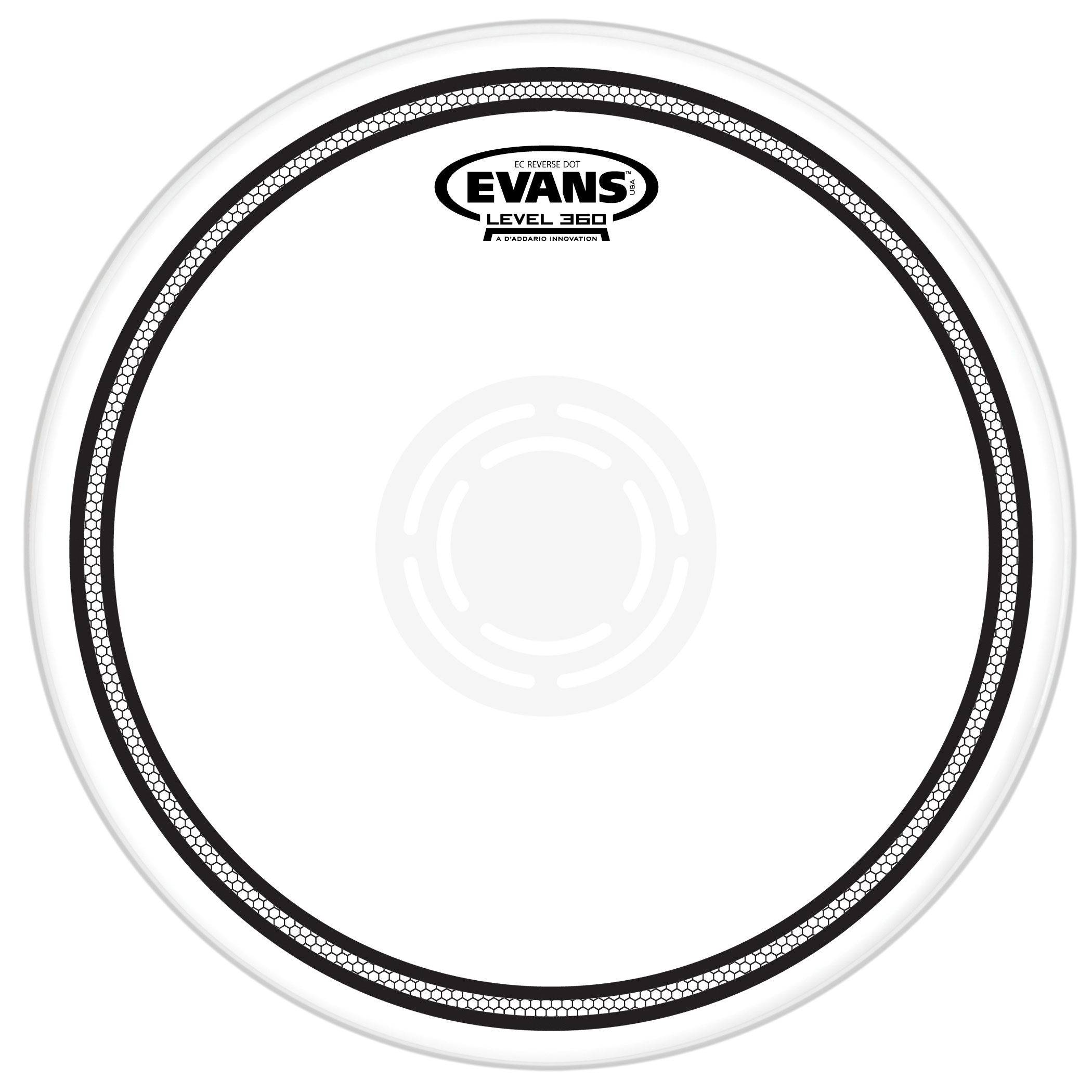 "Evans 13"" EC1 Reverse Dot Snare Top Head"