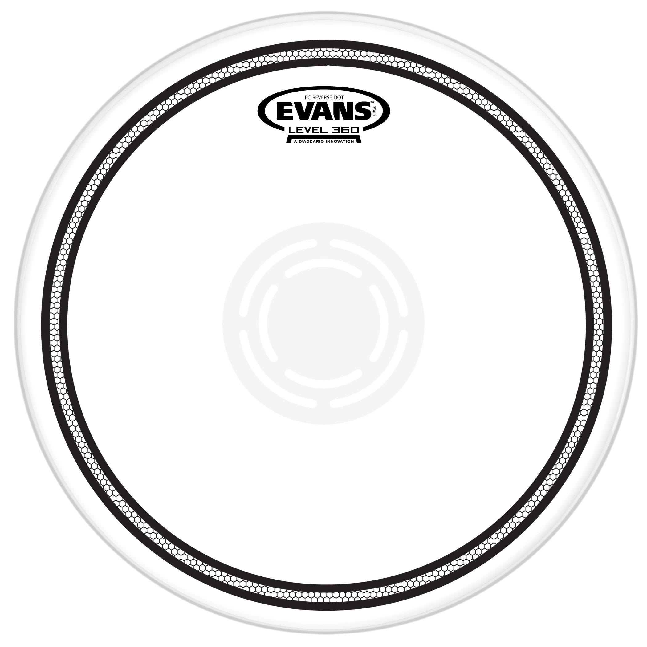 "Evans 13"" EC2 Reverse Dot Head"