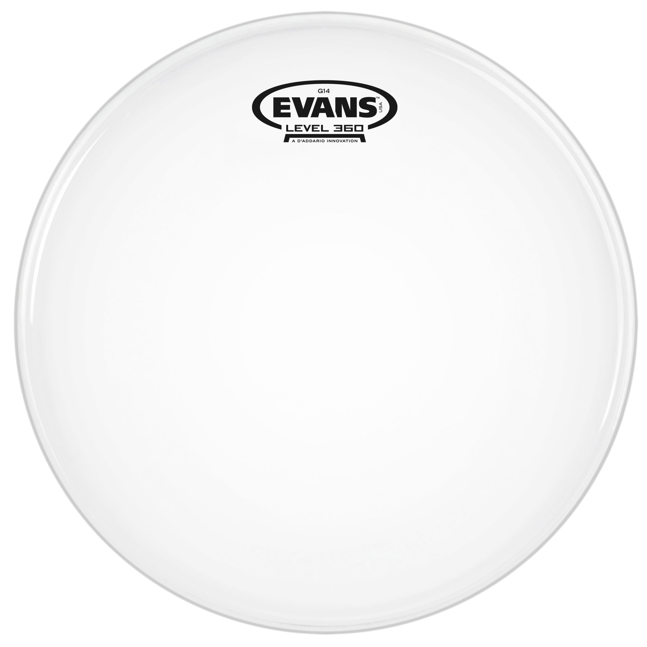 "Evans 14"" G14 Coated Head"