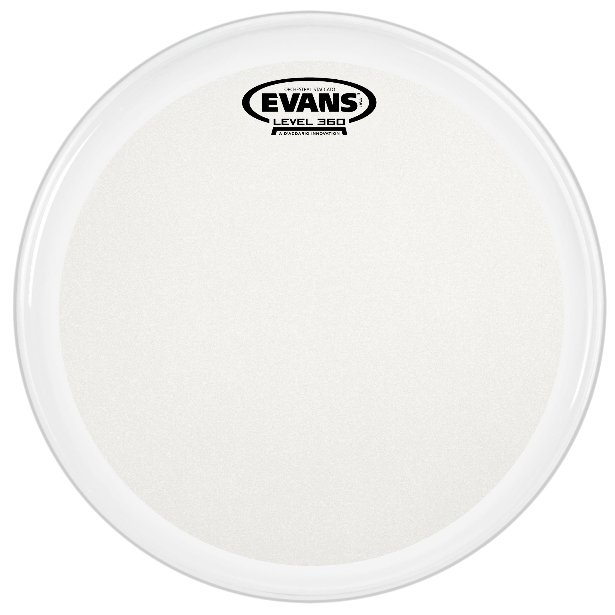 "Evans 14"" Orchestral Staccato Concert Snare Top Head"