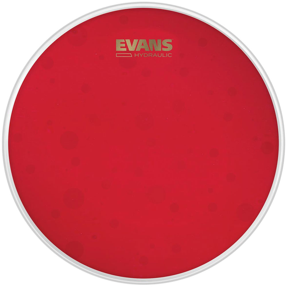 "Evans 14"" Hydraulic Red Coated Snare Drum Batter Head"
