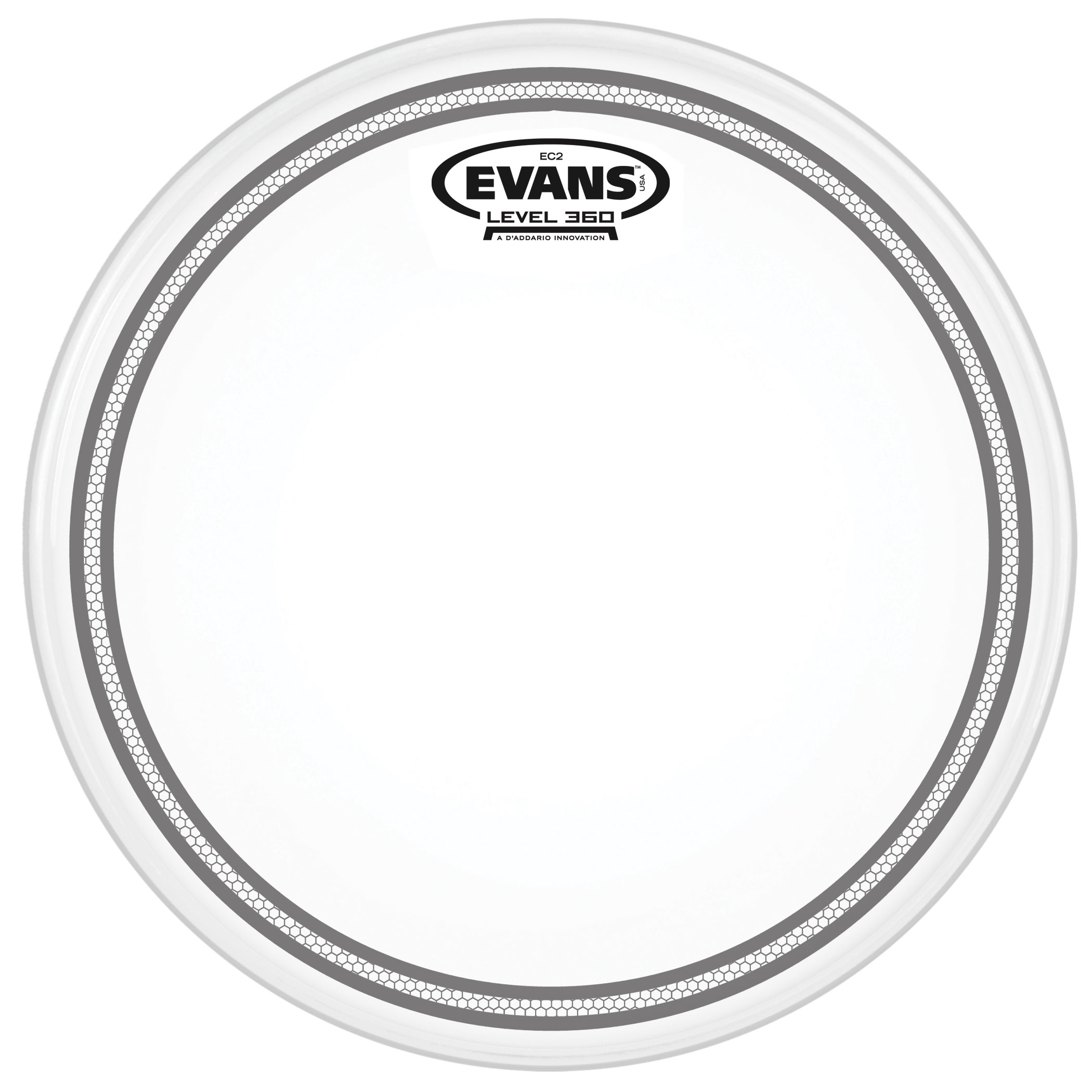 "Evans 18"" EC2S Frosted Head"