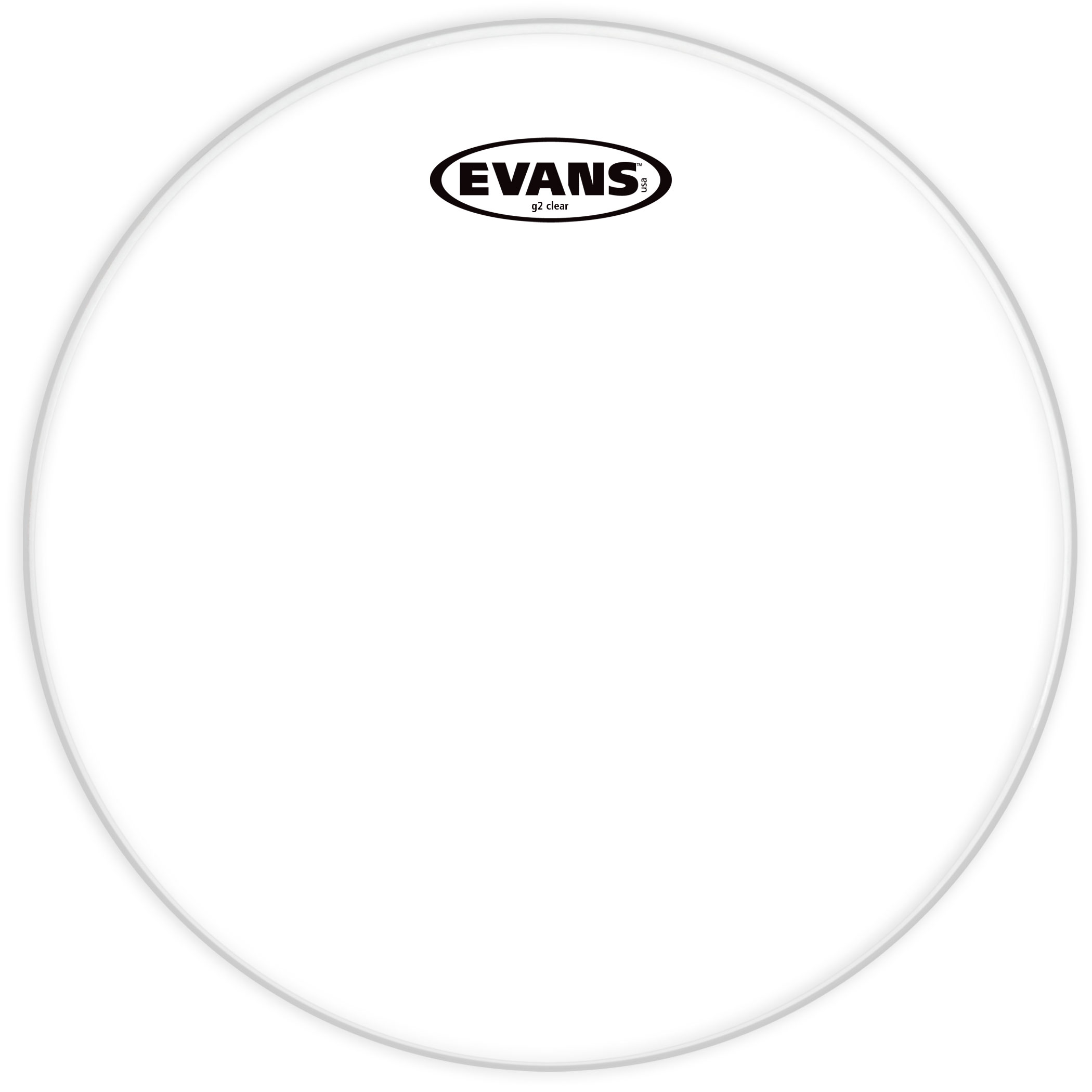"Evans 22"" G2 Clear Bass Head"