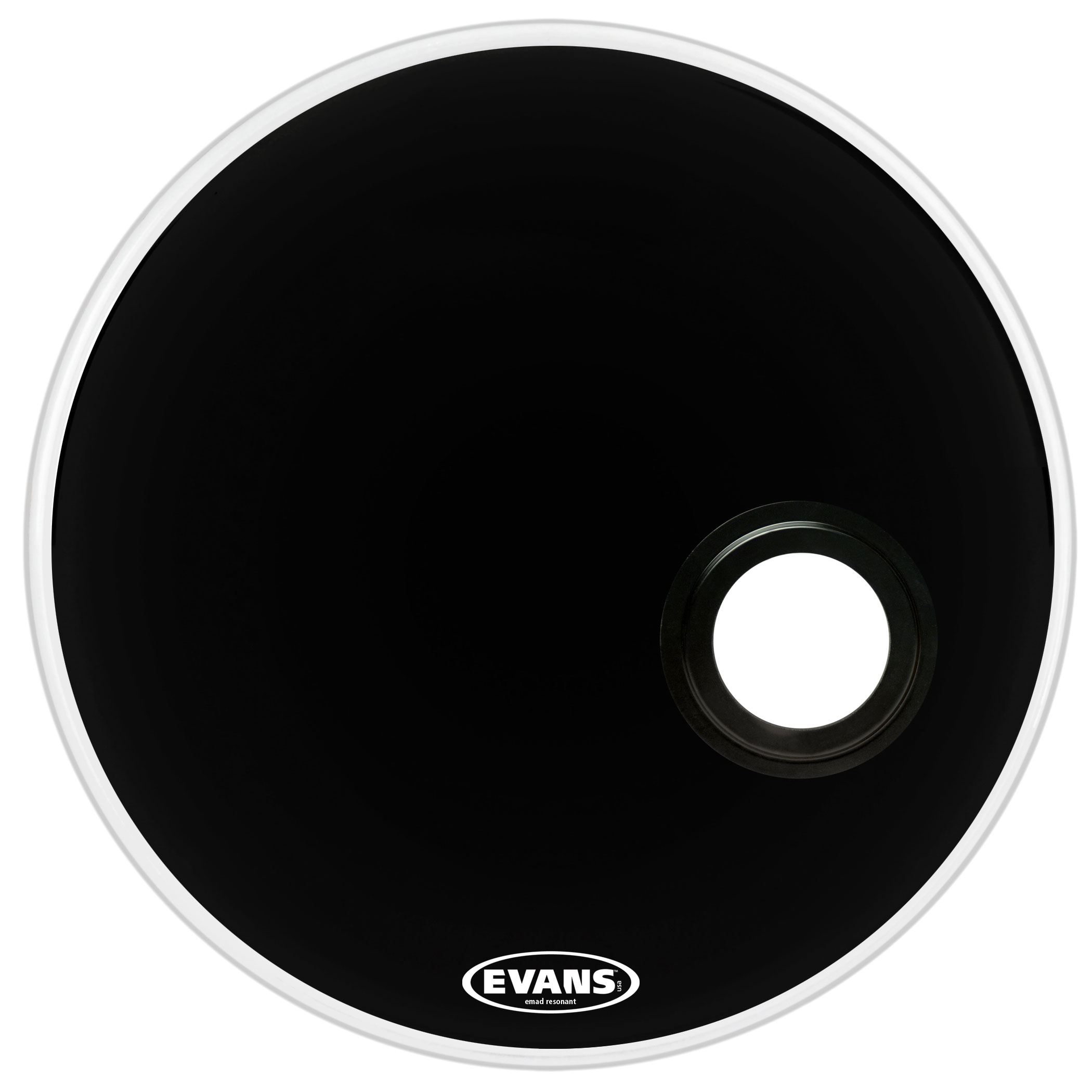 "Evans 22"" EMAD Reso Bass Head"