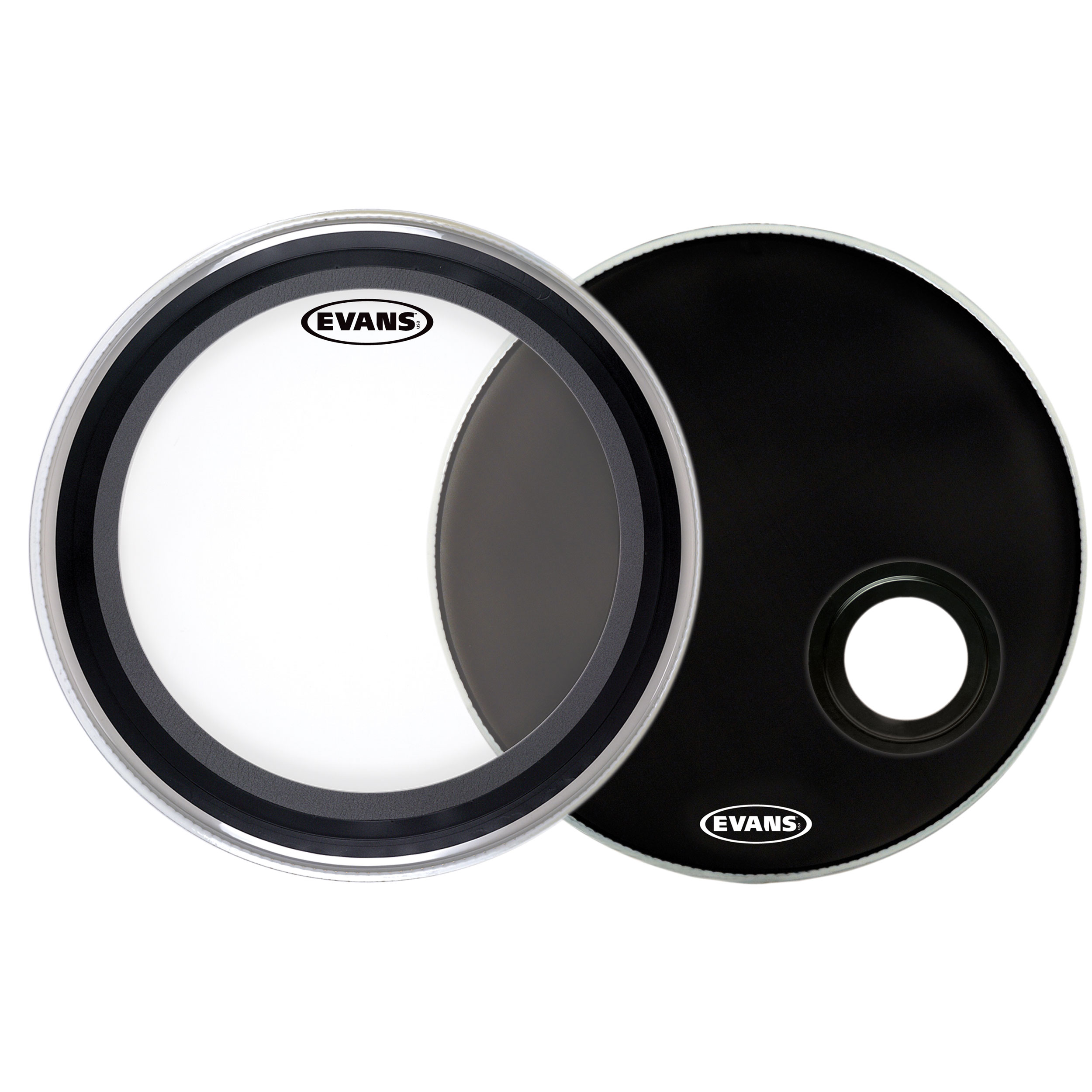 "Evans 22"" EMAD Bass Head System Pack"