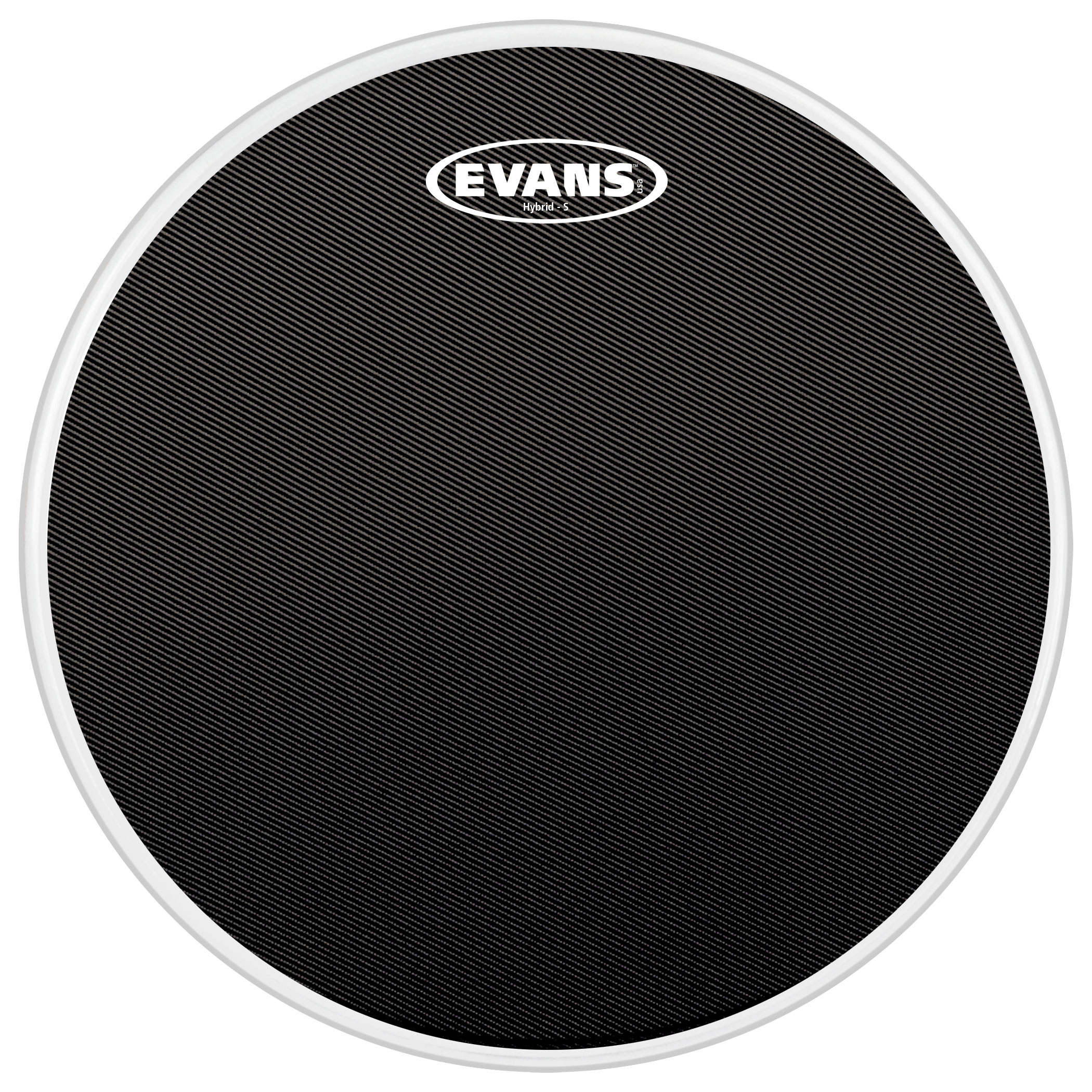 "Evans 14"" Hybrid-S Marching Snare Top Head"