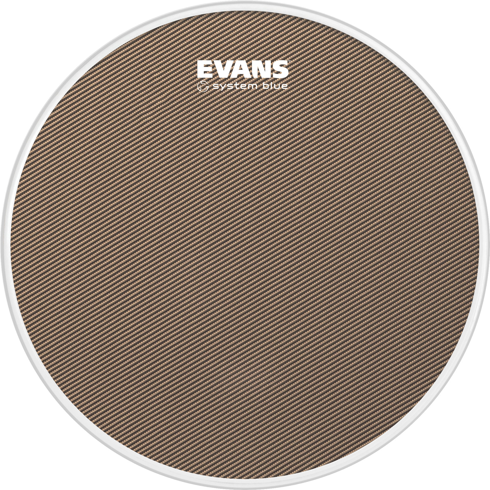 """Evans 13"""" System Blue Marching Snare Top Head"""