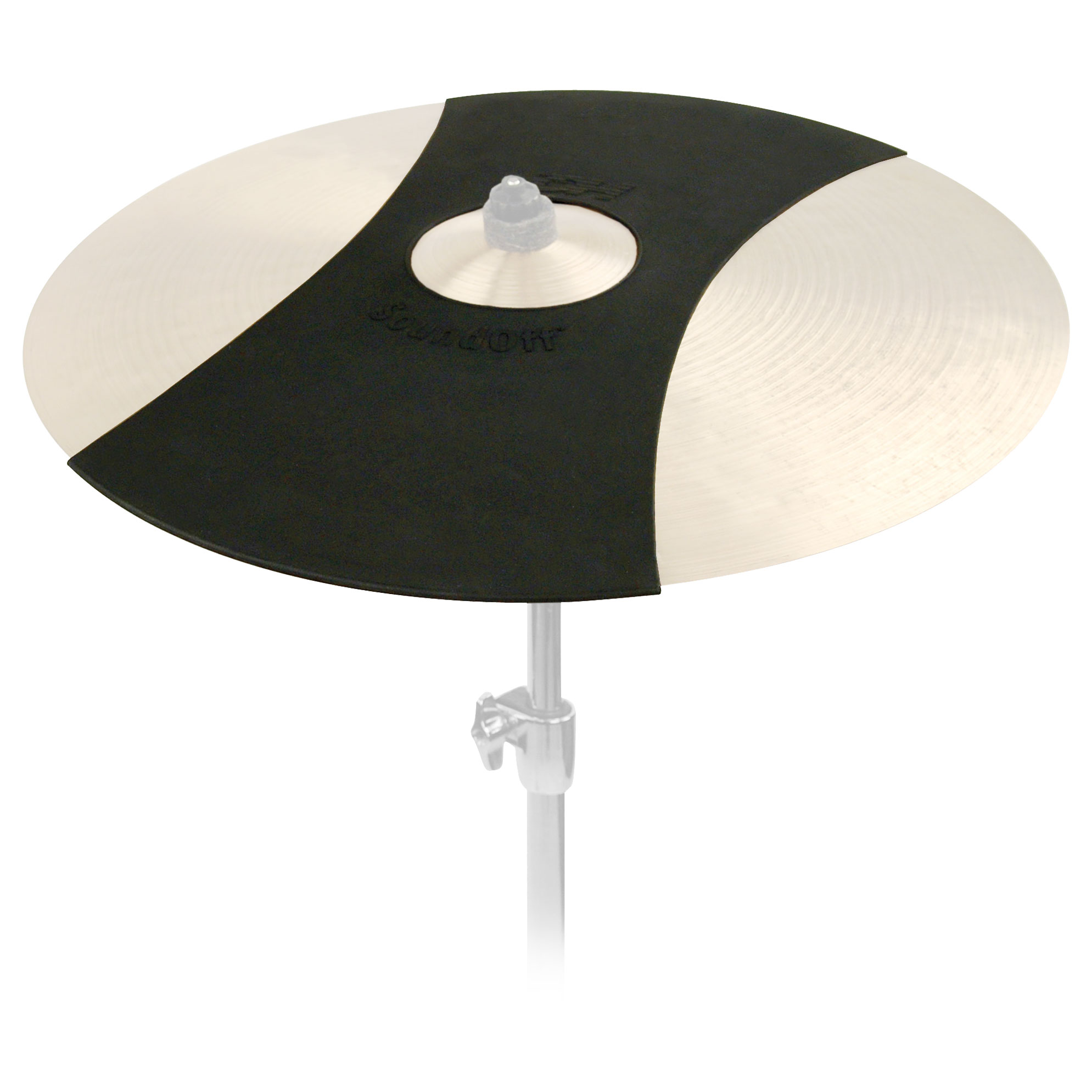 "Evans 22"" Form Fitting Ride Cymbal Mute"