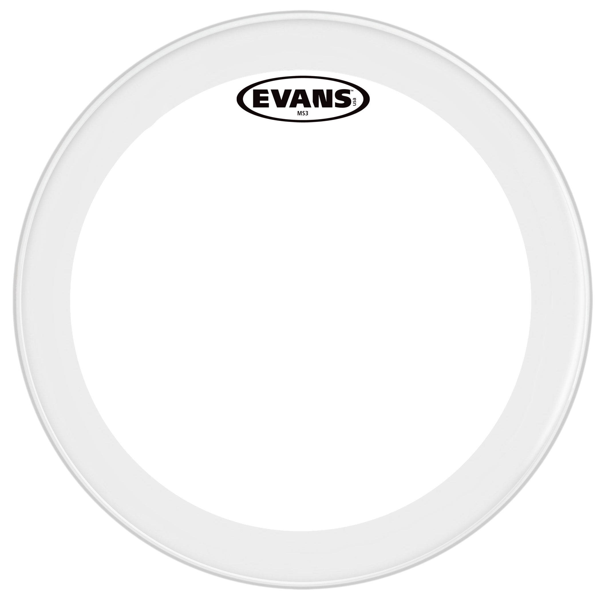 "Evans 13"" MS3 Polyester Marching Snare Bottom Head"