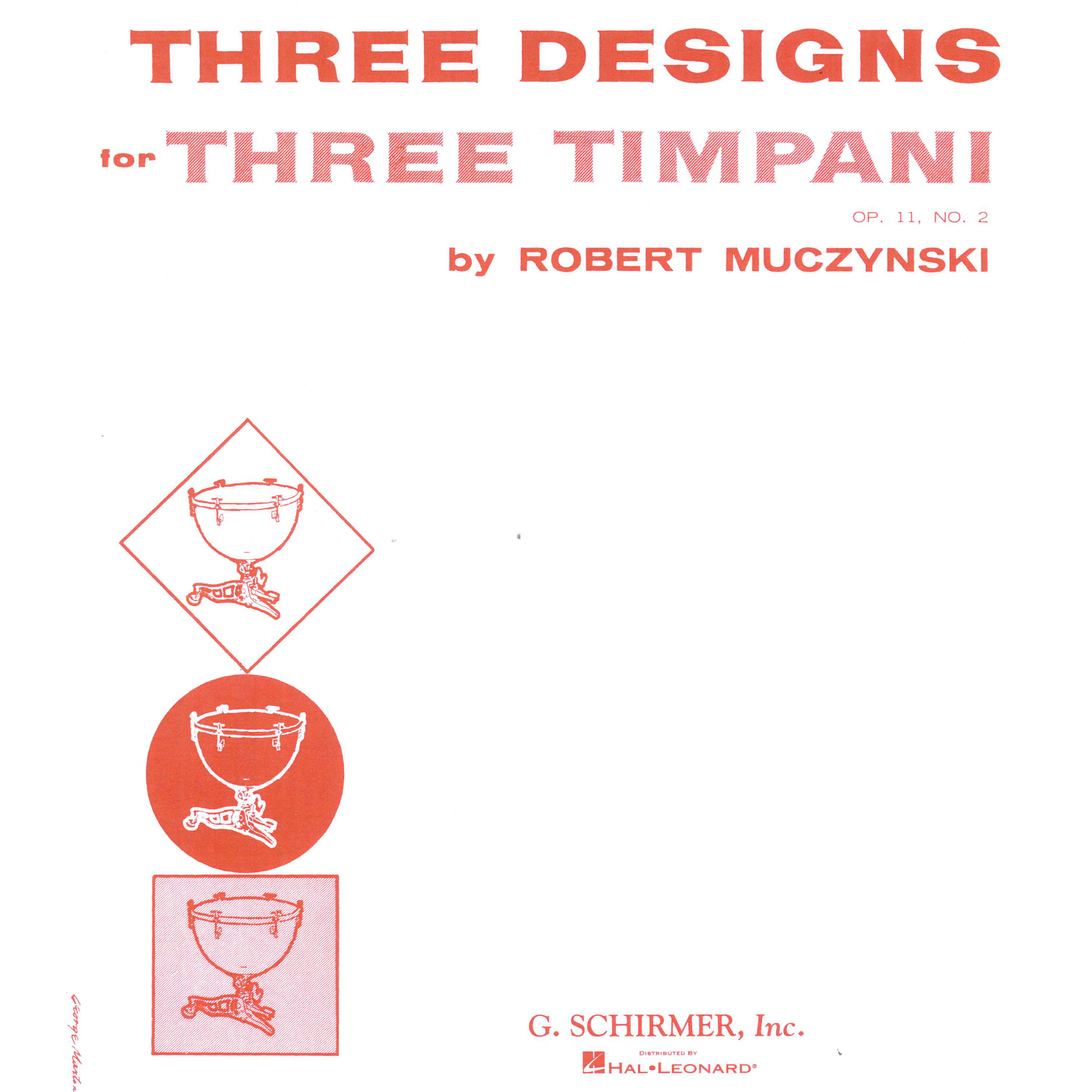 Three Designs for Three Timpani by Robert Muczynski
