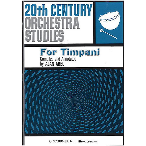 20th Century Orchestra for Timpani by Alan Abel