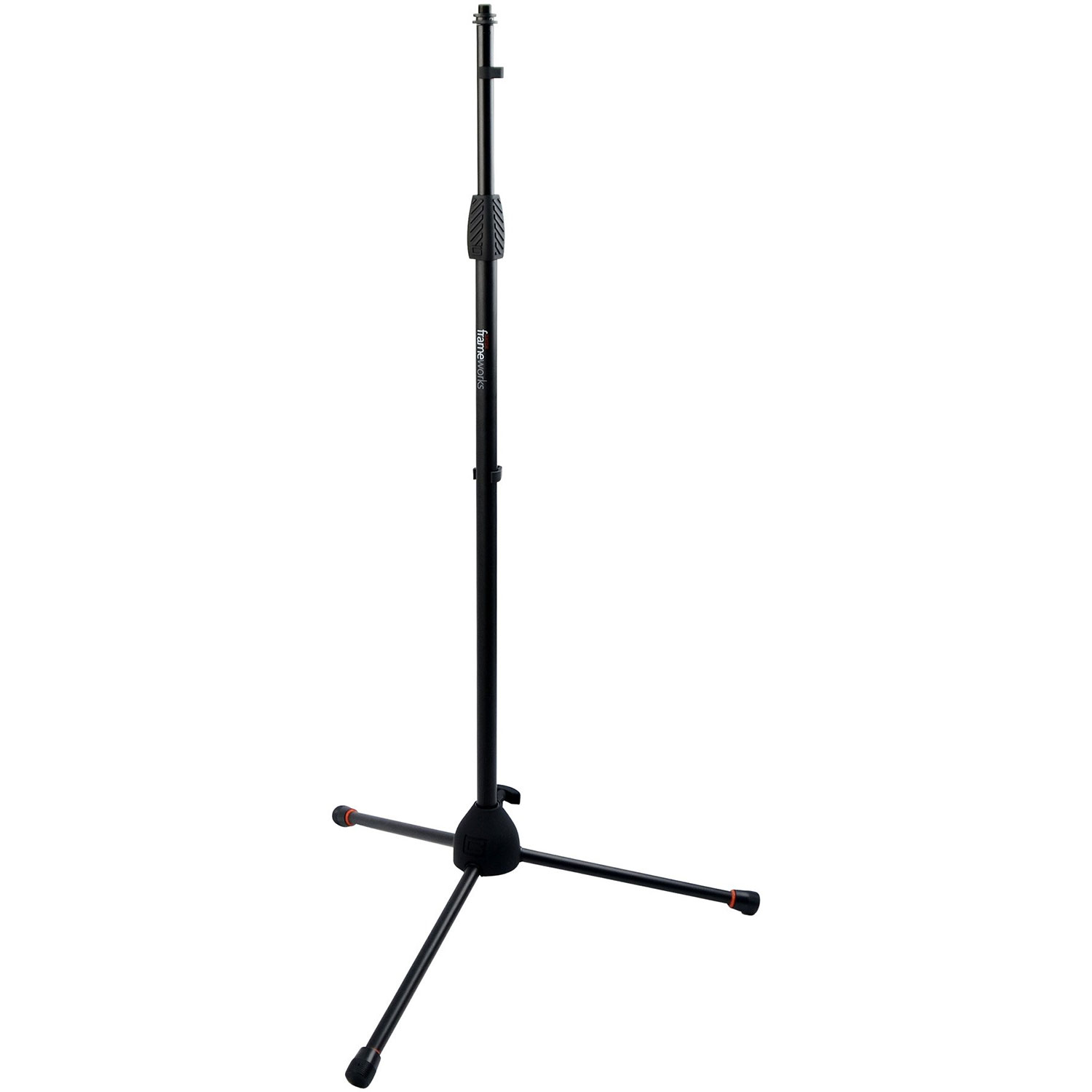 Gator Cases Frameworks Tripod Microphone Stand with Standard Twist Clutch