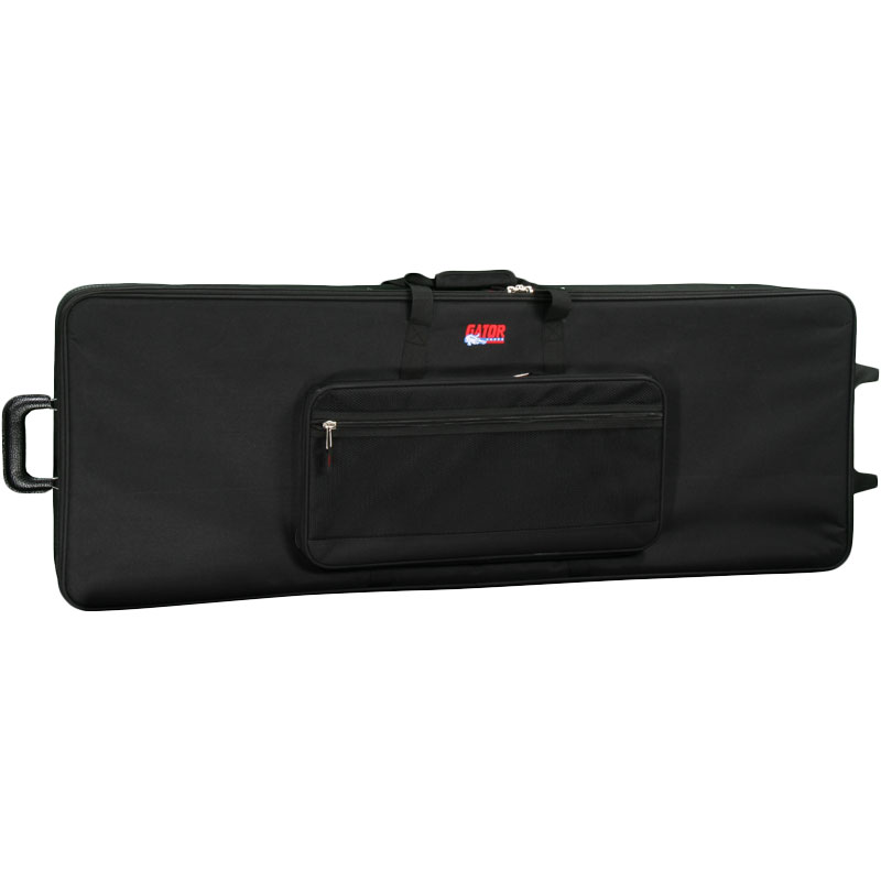 Gator Cases Lightweight 76-Key Synthesizer Case with Wheels