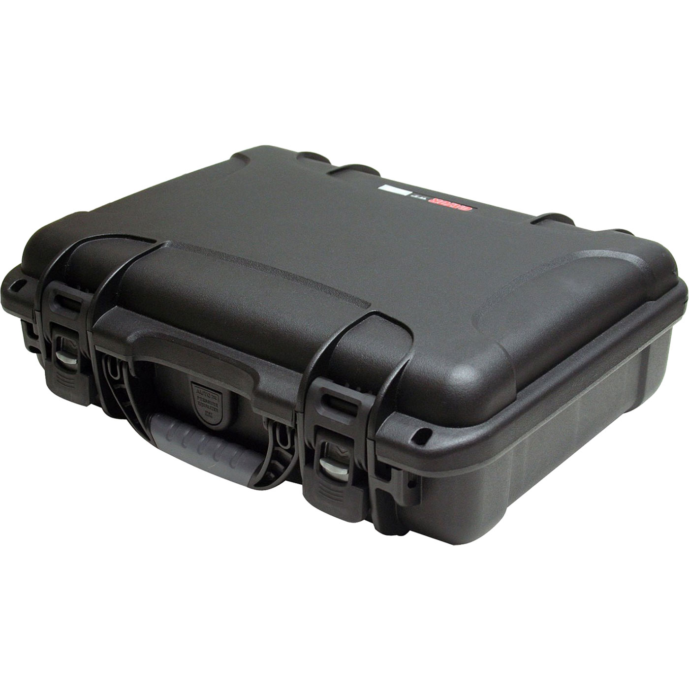 """Gator Cases 13.2"""" x 9.2"""" x 3.8"""" Waterproof Injection Molded Case with Diced Foam"""