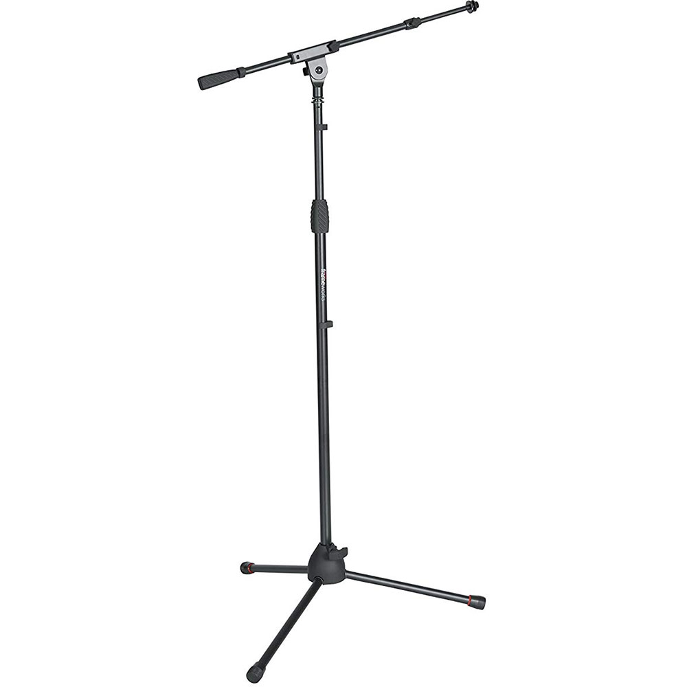 Gator Cases Frameworks Tripod Microphone Stand with Telescoping Boom