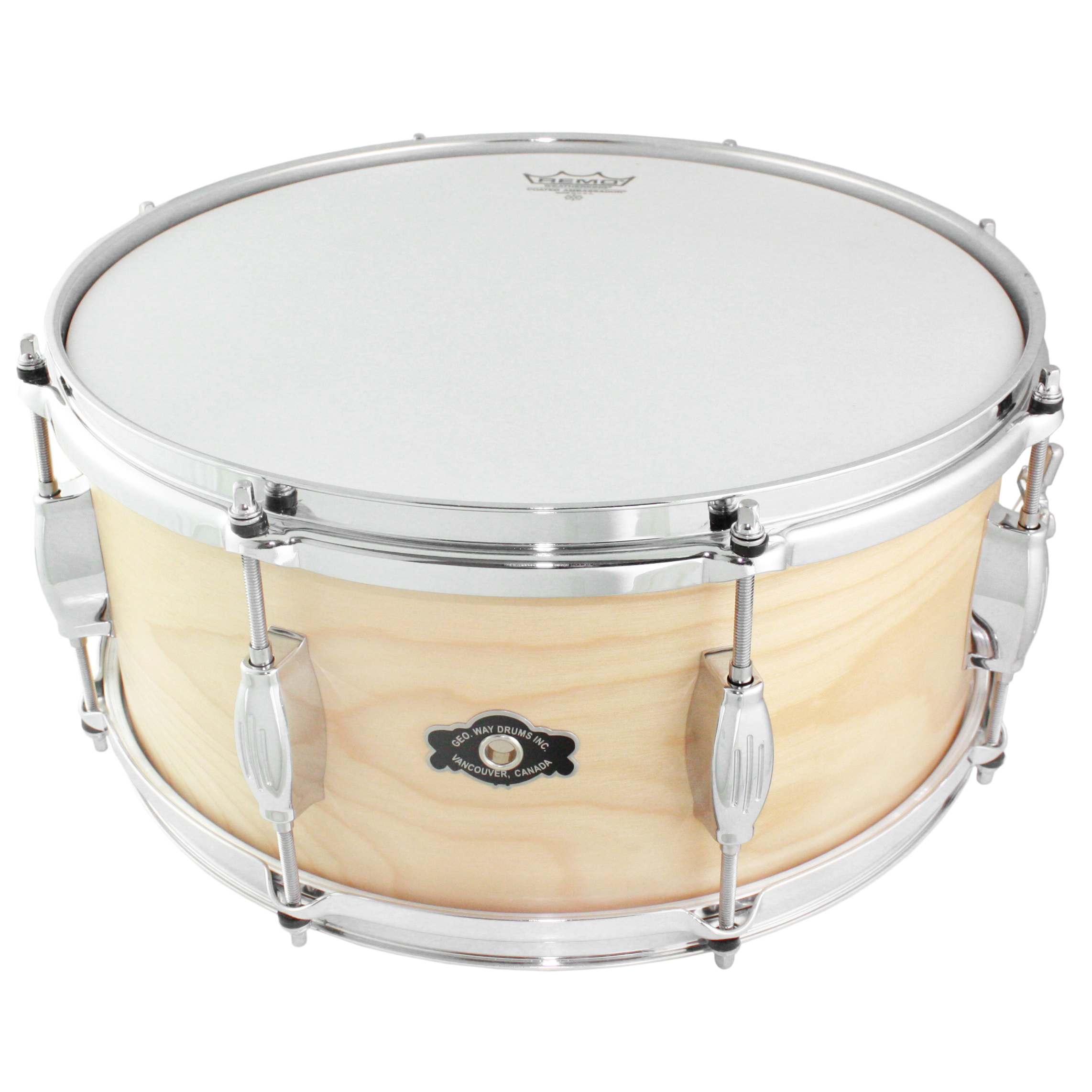 "George Way 6.5"" x 14"" Tradition Birch Natural Oil Snare Drum"