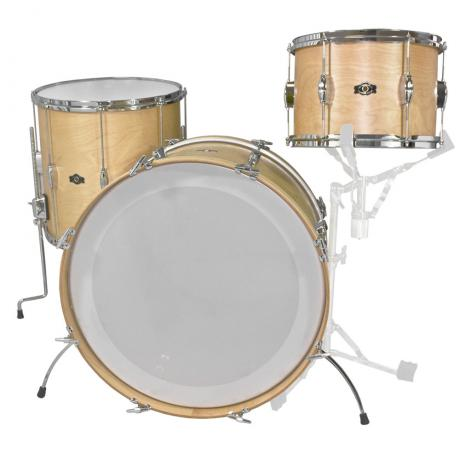 George Way Tradition Tuxedo 3-Piece Drum Set Shell Pack (22
