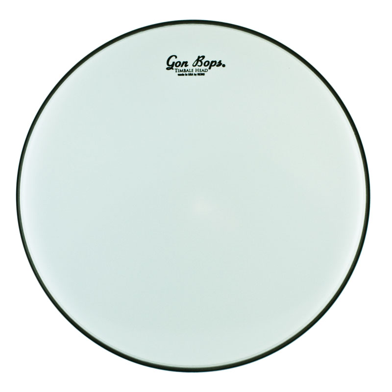 "Gon Bops Remo 14"" Smooth White Timbale Head"