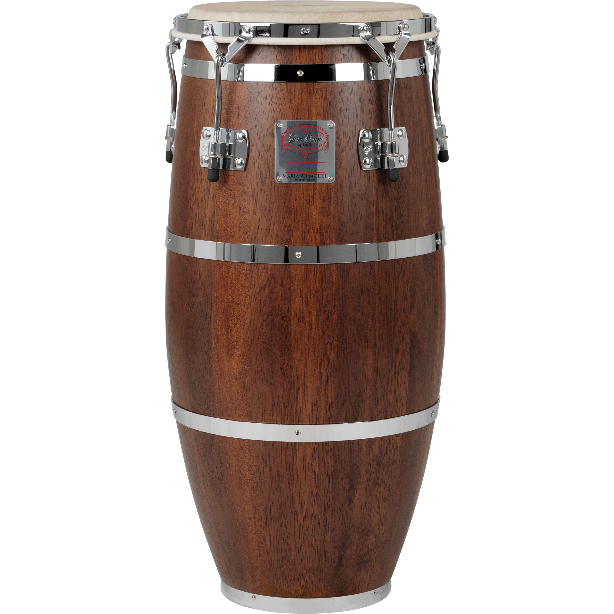 """Gon Bops 11.50"""" Mariano Series Conga with Chrome Hardware"""