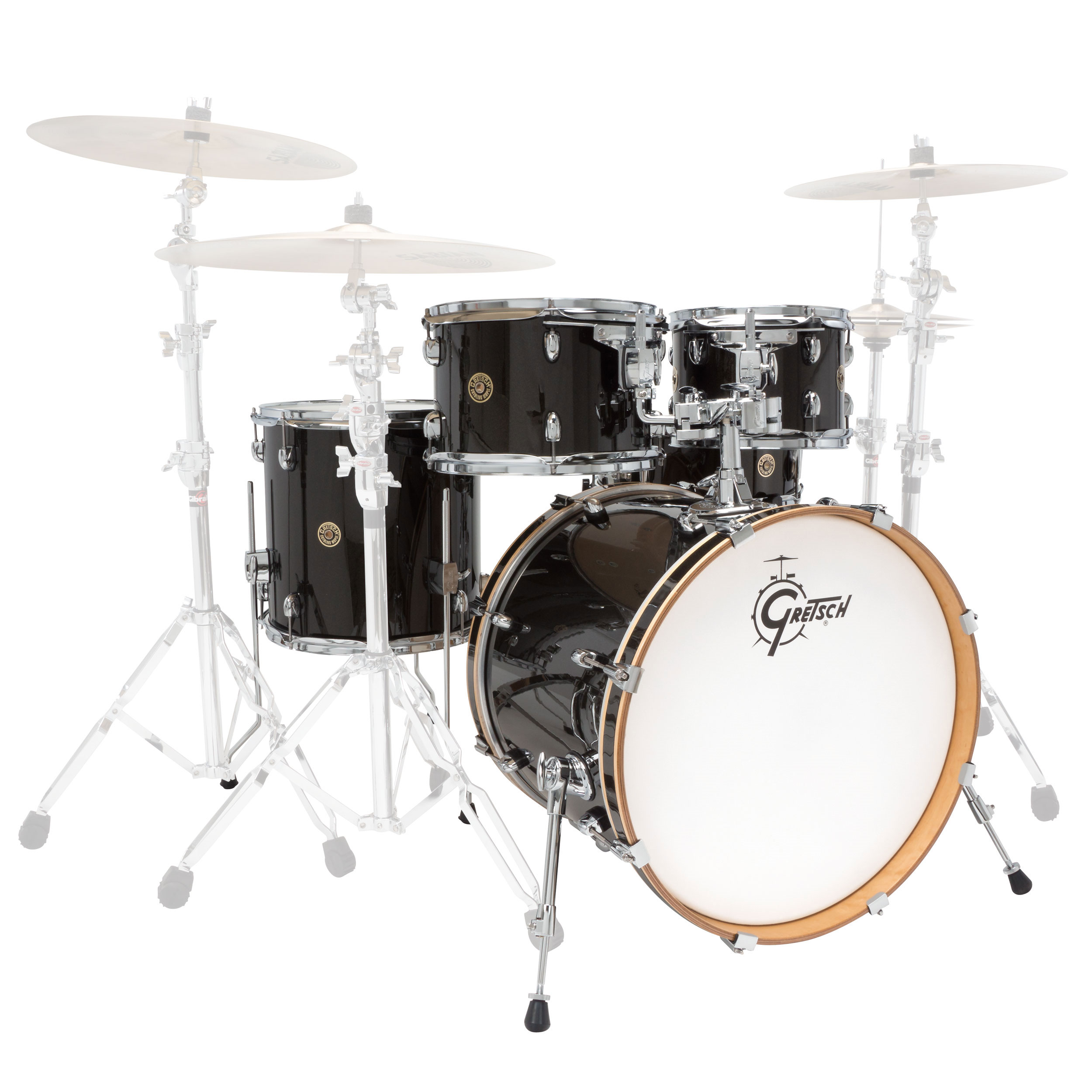 "Gretsch Catalina Maple 5-Piece Groove Drum Set Shell Pack (20"" Bass, 10/12/14"" Toms, 14"" Snare)"