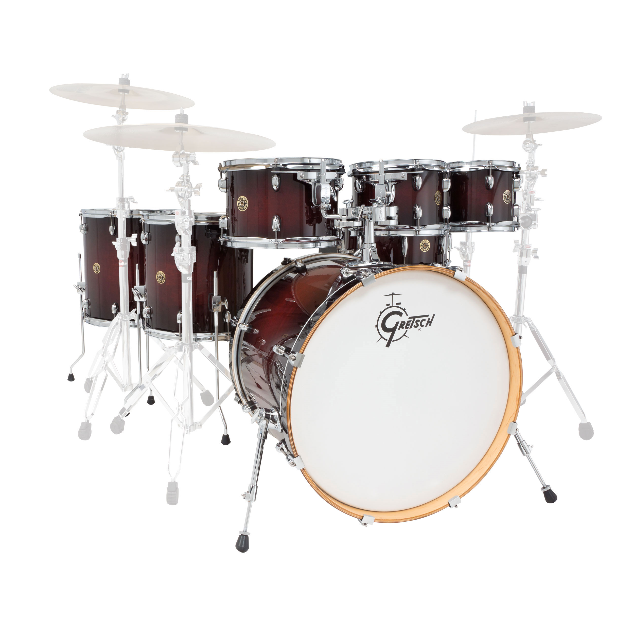 "Gretsch Catalina Maple CM1 7-Piece Drum Set Shell Pack (22"" Bass, 8/10/12/14/16"" Toms, 14"" Snare)"