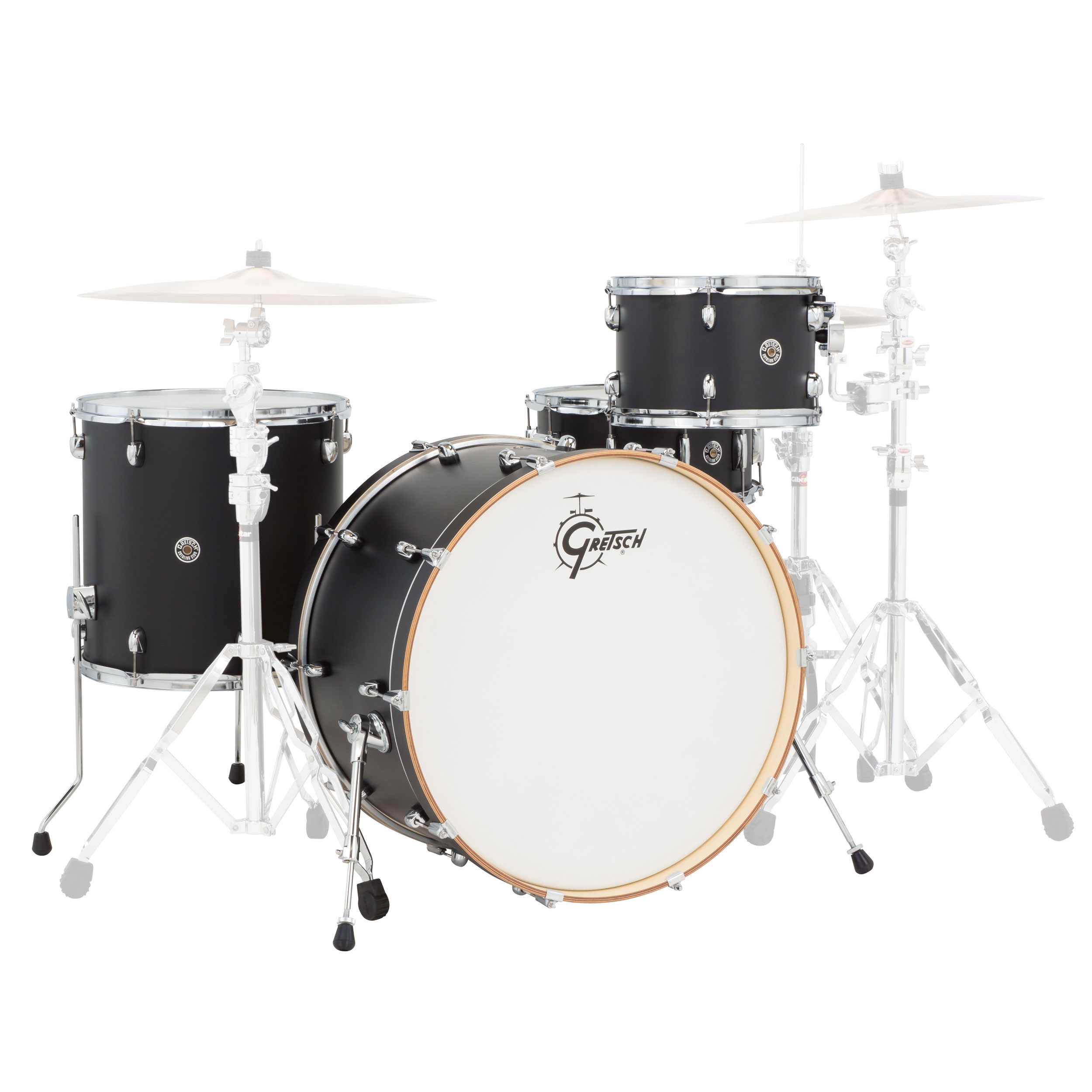 "Gretsch Catalina Club Rock 4-Piece Drum Set Shell Pack (24"" Bass, 13/16"" Toms, 14"" Snare)"