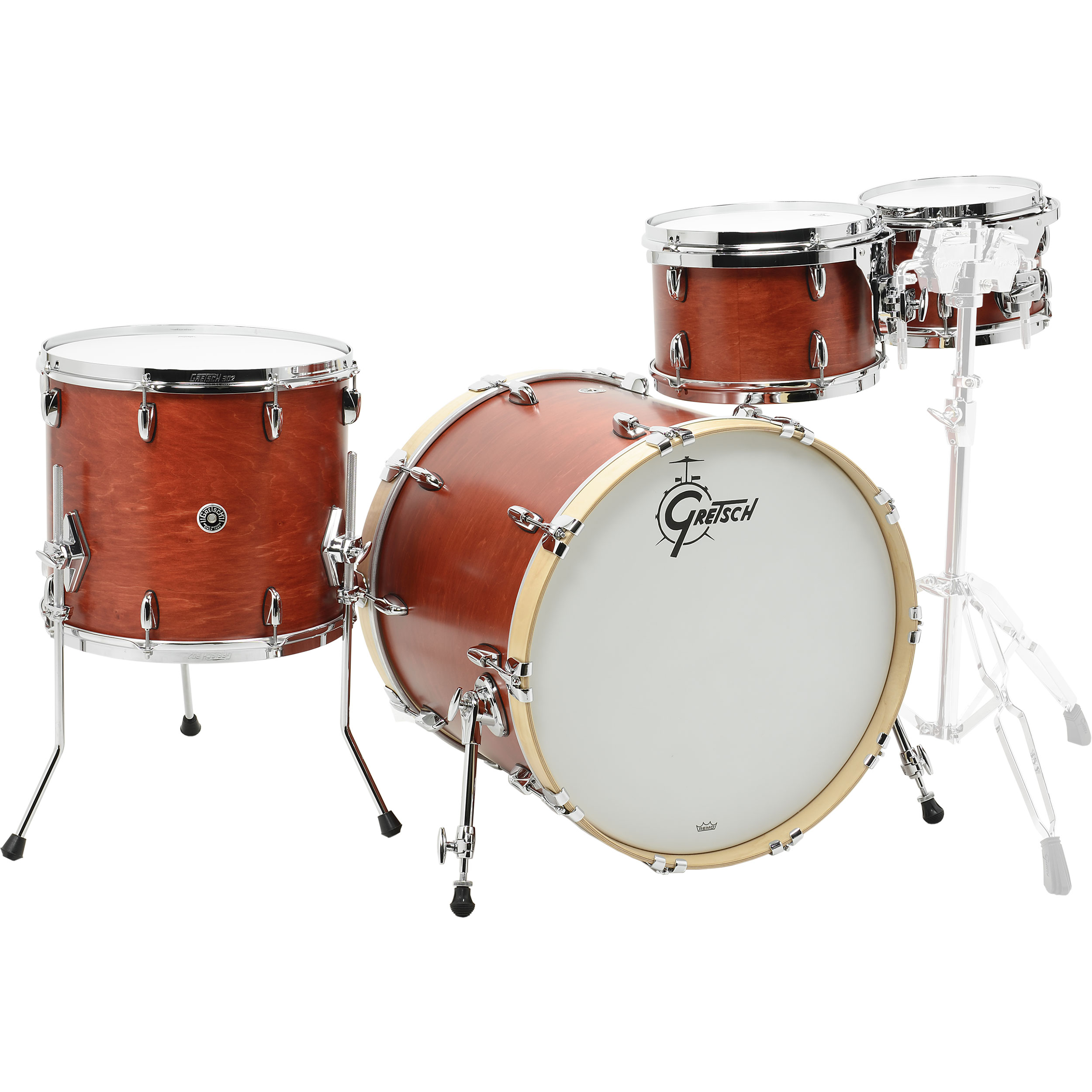 "Gretsch Brooklyn 4-Piece Drum Set Shell Pack (22"" Bass, 10/12/16"" Toms)"
