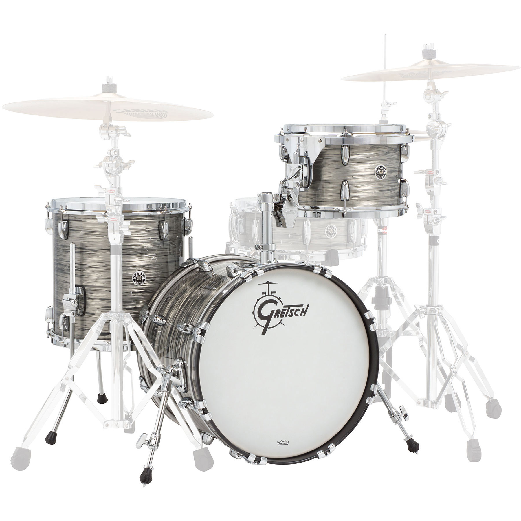 "Gretsch Brooklyn 3-Piece Drum Set Shell Pack (18"" Bass, 12/14"" Toms)"