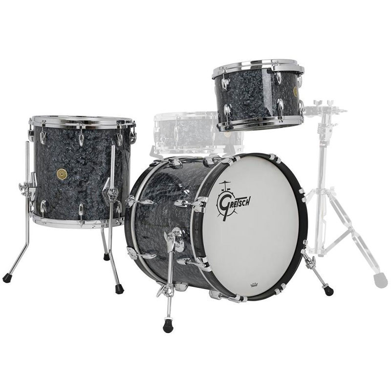 "Gretsch Brooklyn 3-Piece Drum Set Shell Pack (22"" Bass, 13/16"" Toms)"