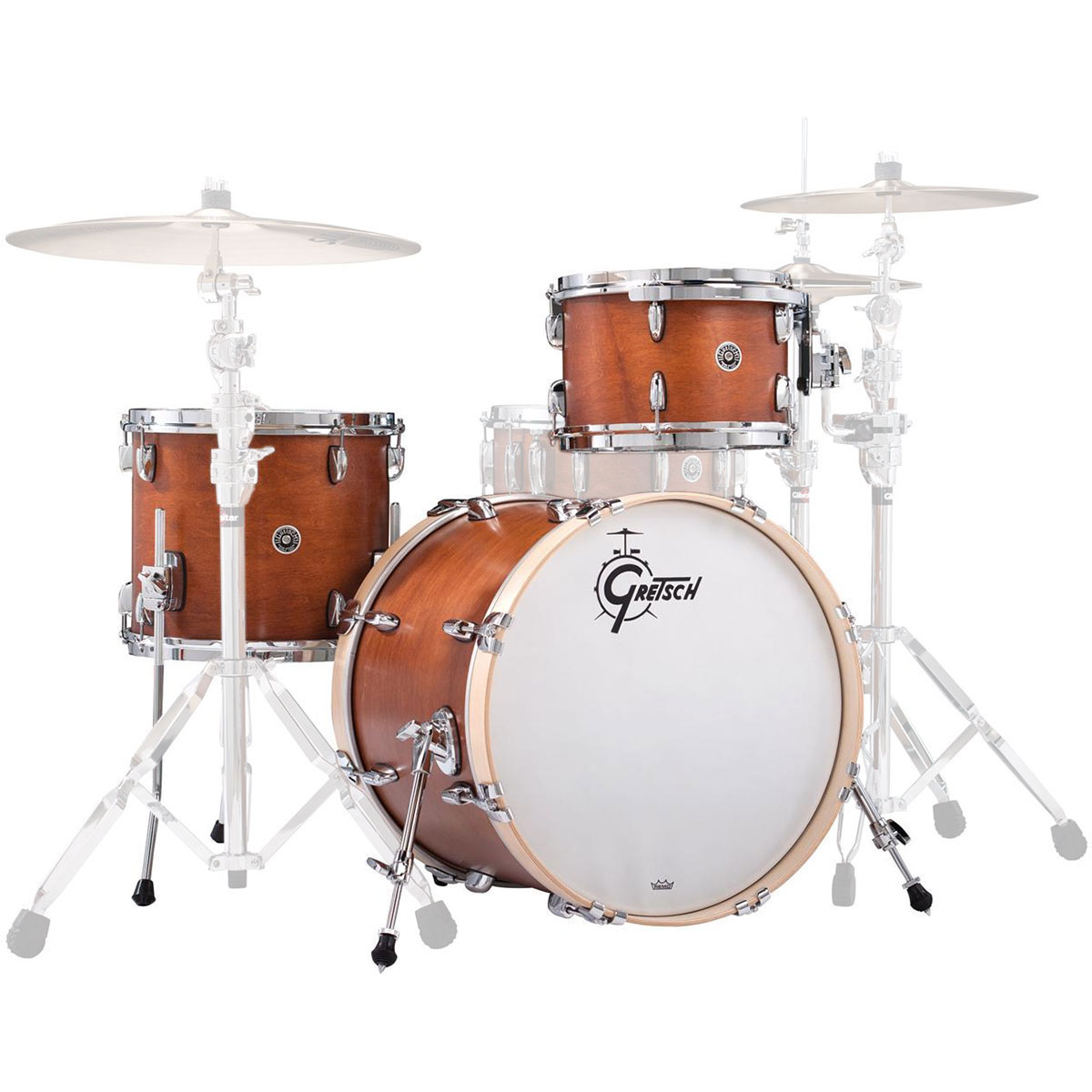 "Gretsch Brooklyn 3-Piece Drum Set Shell Pack (24"" Bass, 13/16"" Toms)"