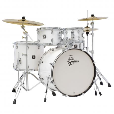 Gretsch Energy Series Drum Set with Hardware and Sabian SBR Cymbals (22