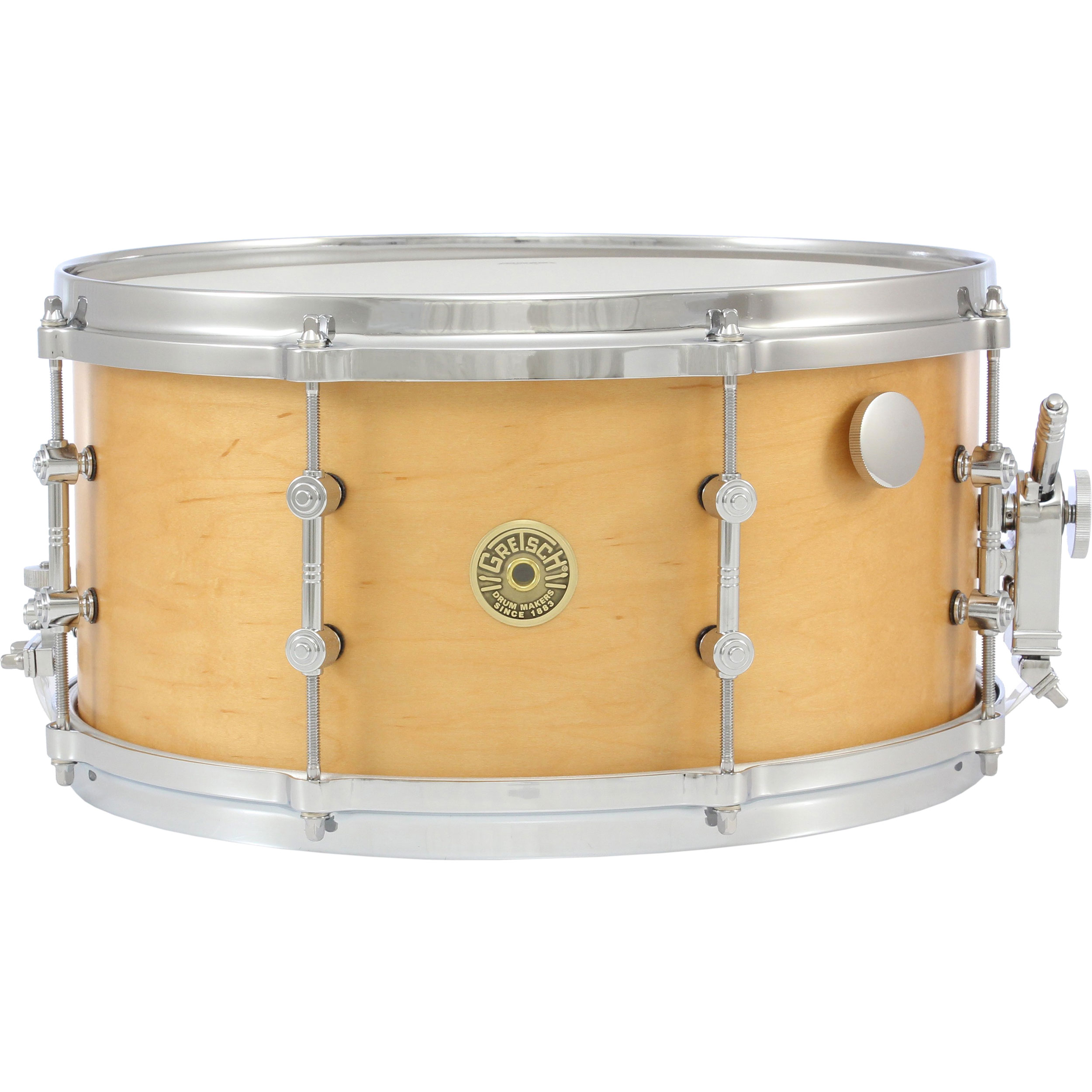 "Gretsch 7"" x 14"" USA Custom Millennium Maple Snare Drum"