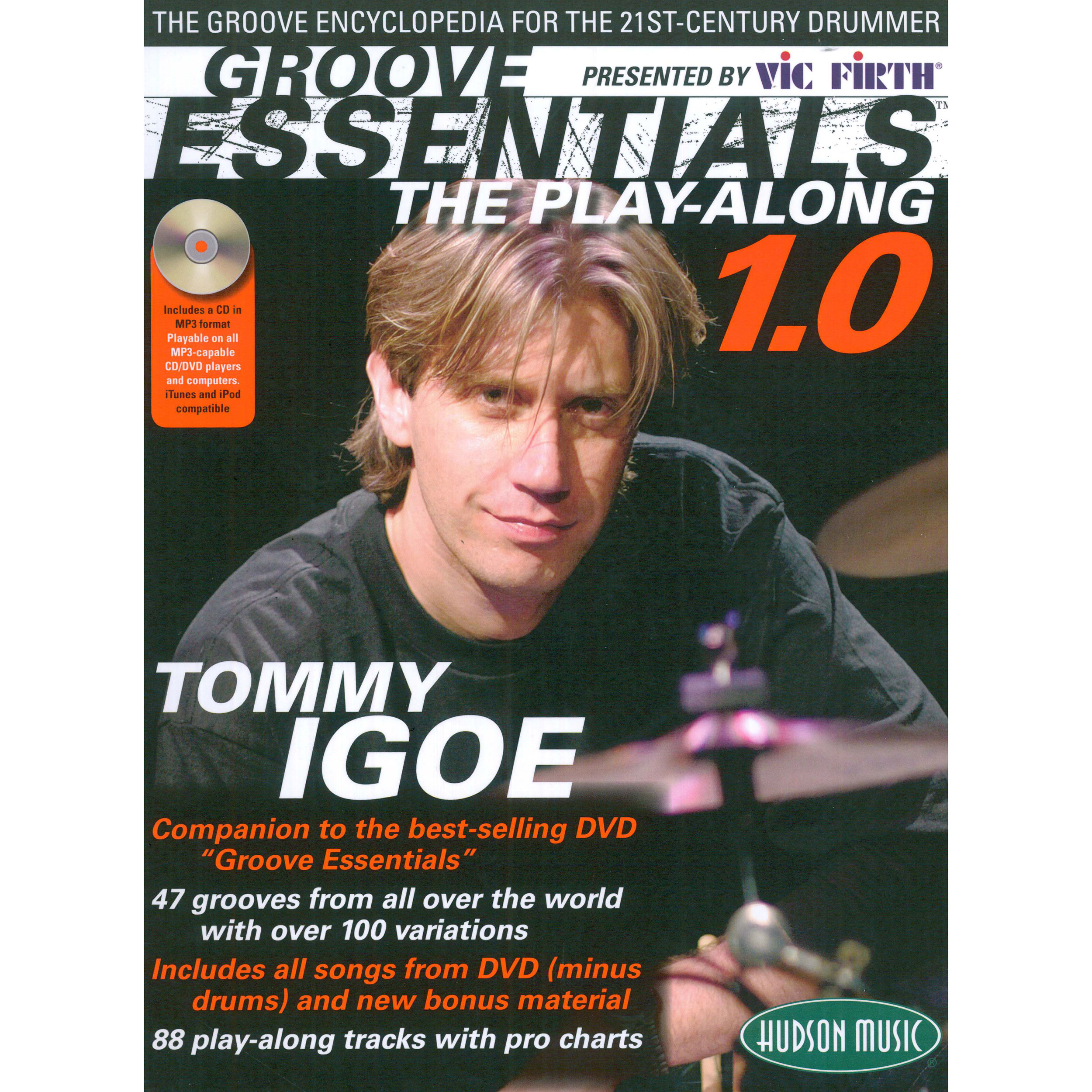 Groove Essentials 1.0 Book/CD/DVD Pack by Tommy Igoe