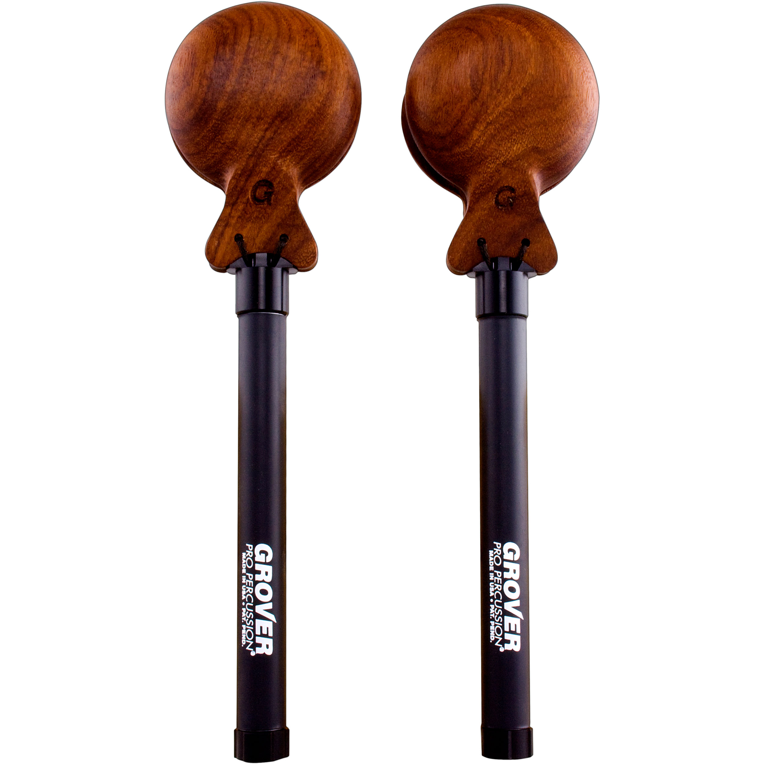 Grover Pro Large Adjustable Tension Granadillo Castanets
