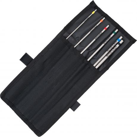 Grover Pro 6-Piece Triangle Beater Set with Bag