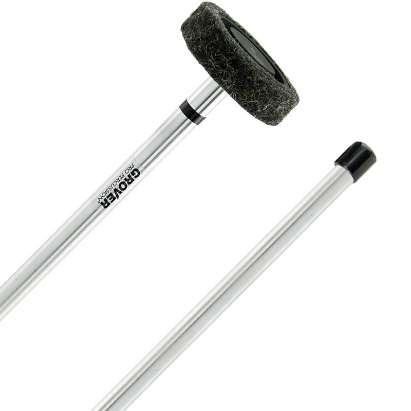Grover Pro Rolling Gong Mallets with Aluminum Handles (Pair)