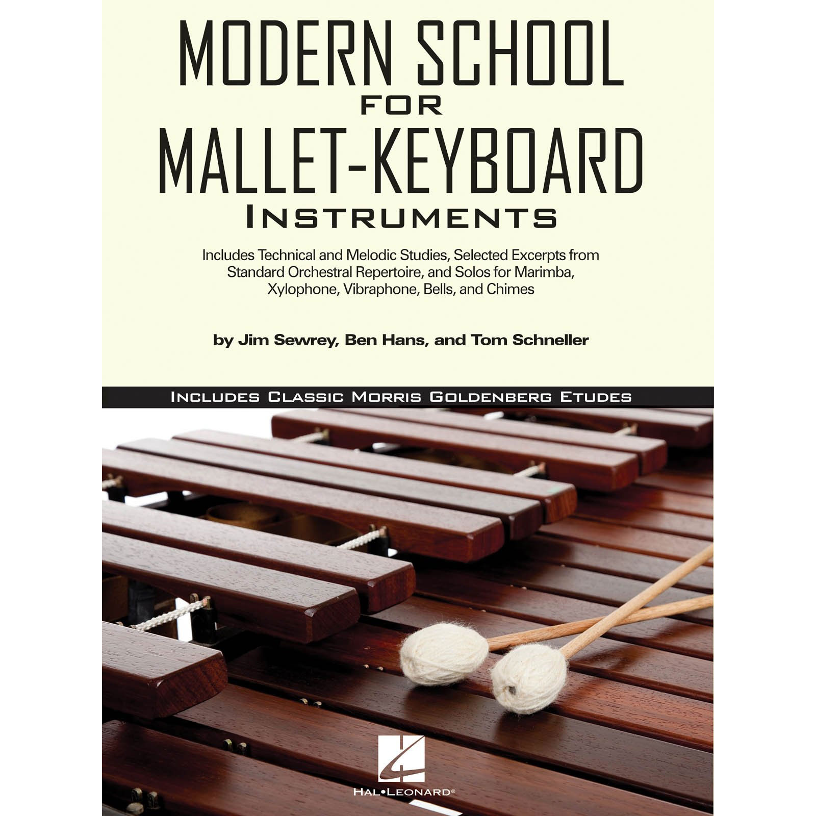 Modern School for Mallet-Keyboard Instruments by Hans, Sewrey, & Schneller
