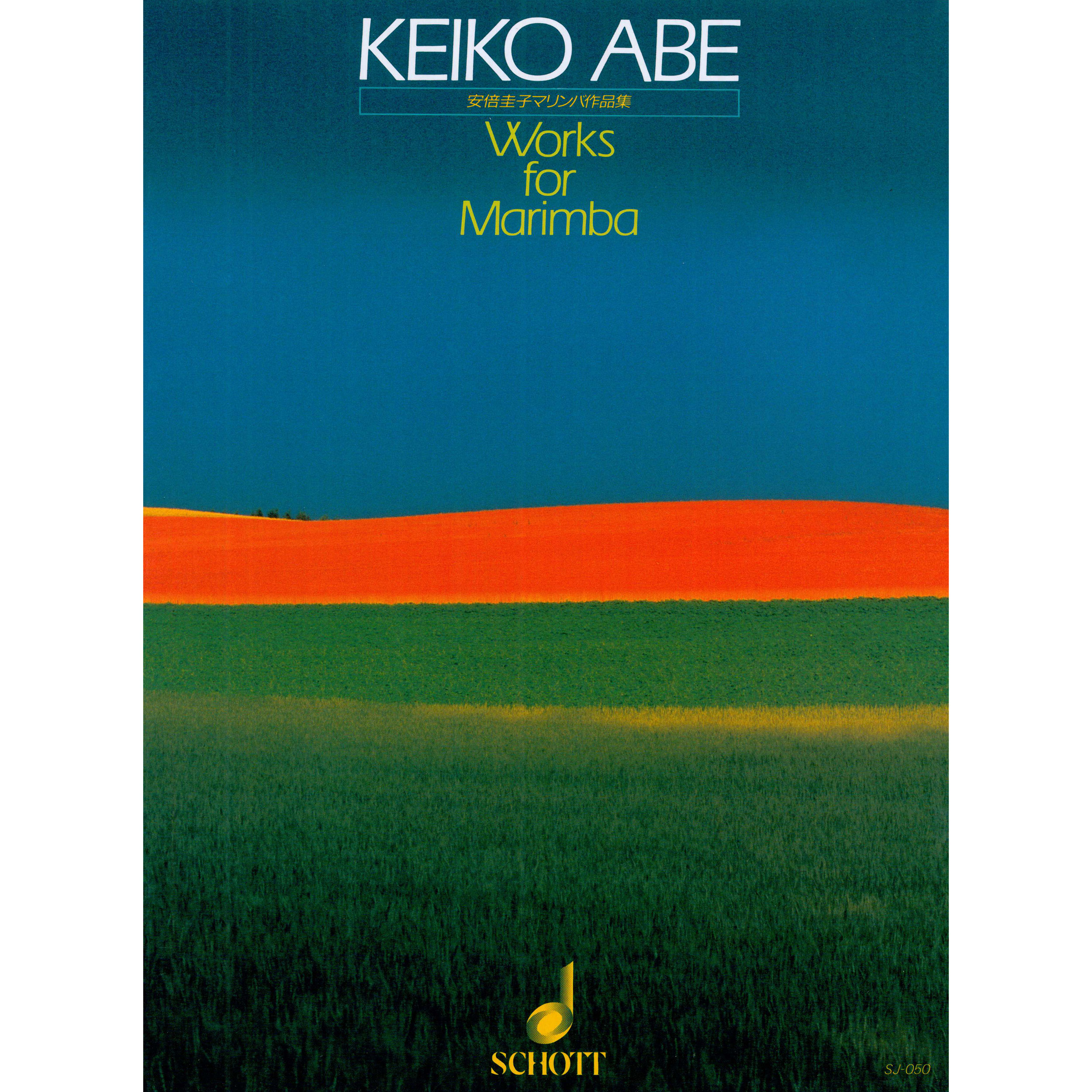 Works for Marimba by Keiko Abe