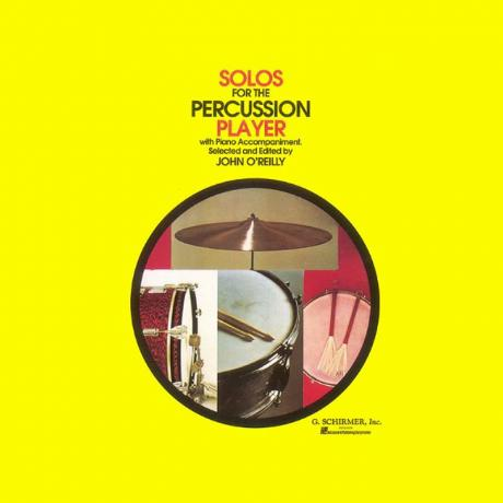 Solos for the Percussion Player ed. John O'Reilly