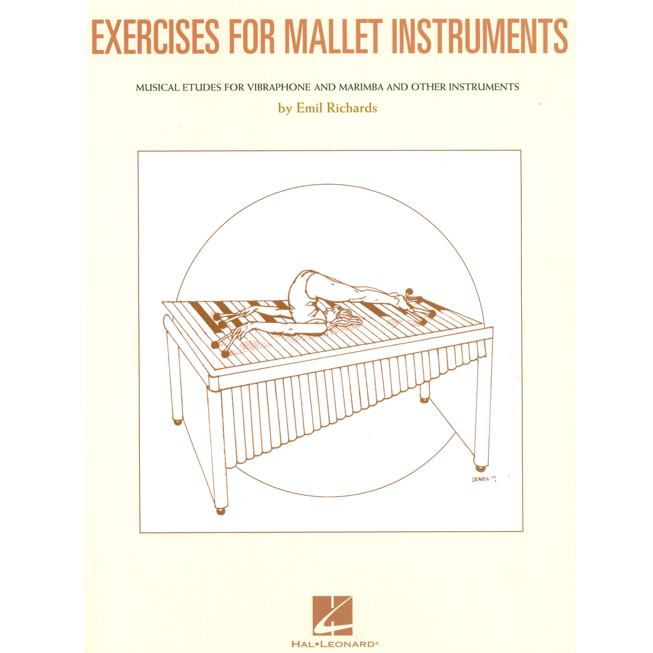 Exercises for Mallet Instruments by Emil Richards