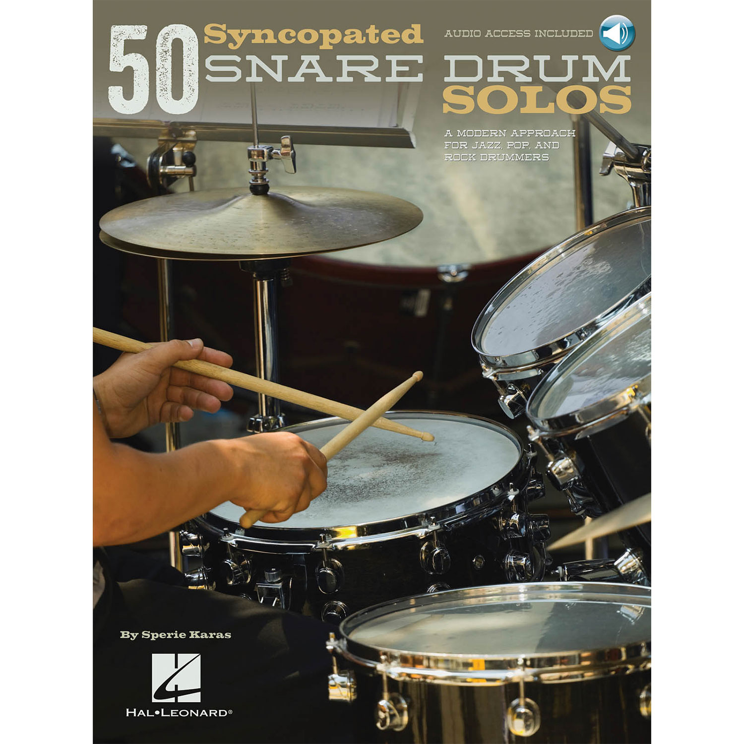 50 Syncopated Snare Drum Solos by Sperie Karas
